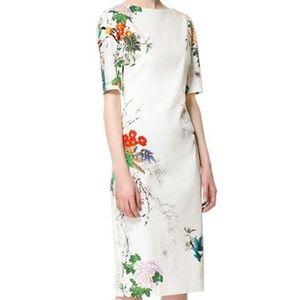 Zara Knee length Chinese style dress